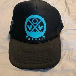 Vintage Hawaii Kauai Trucker OTTO Hat